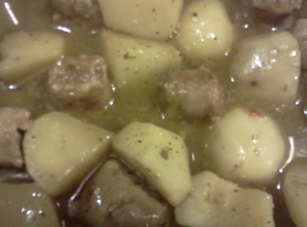 Sausage & Potatoes W/ Seasoned Gravy Recipe
