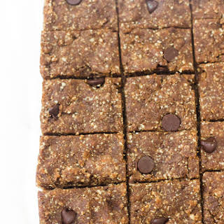 Peanut Butter Chocolate Chip Date Bars.