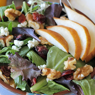 Pear Salad with Meyer Lemon Vinaigrette