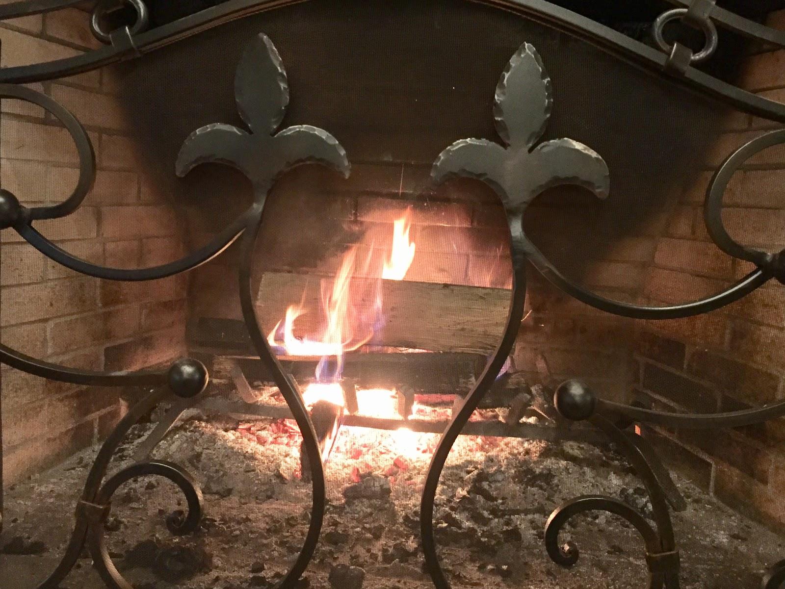 Metal Fireplace Grate