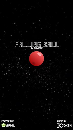 Space Falling Ball 1.5 screenshots 1