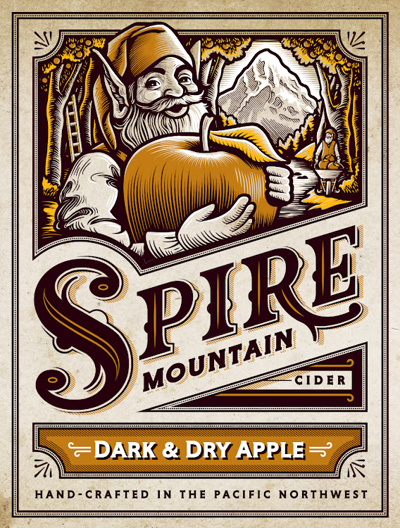 Logo of Spire Dark and Dry Apple
