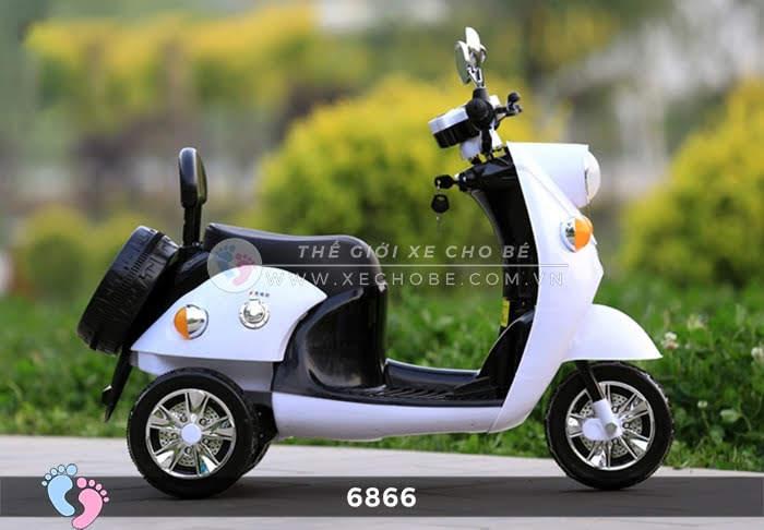 Xe máy điện cho bé Mio 6866 15
