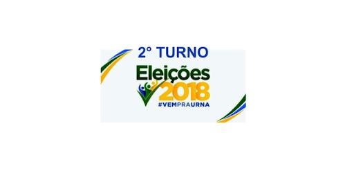 Apuração dos votos das eleições 2018 do 2° turno para Presidente e Governador.