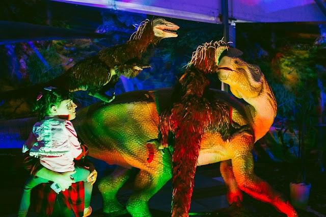 Dinosaurs Tour. La muestra internacional permanecerá instalada en el Palacio de Congresos de Aguadulce del 10 al 25.