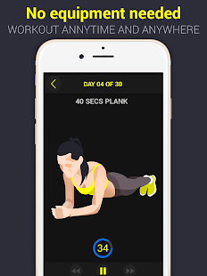 30 Day Plank Challenge Free- screenshot thumbnail
