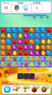 Lollipop Crush Sweet Puzzle - náhled
