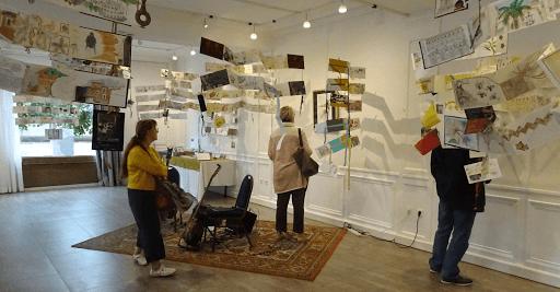 expo CARNET DE VOYAGE _ aquarelle  avec JEANNE PAPA_Palerme_ Fontainebleau_ Seine et Marne
