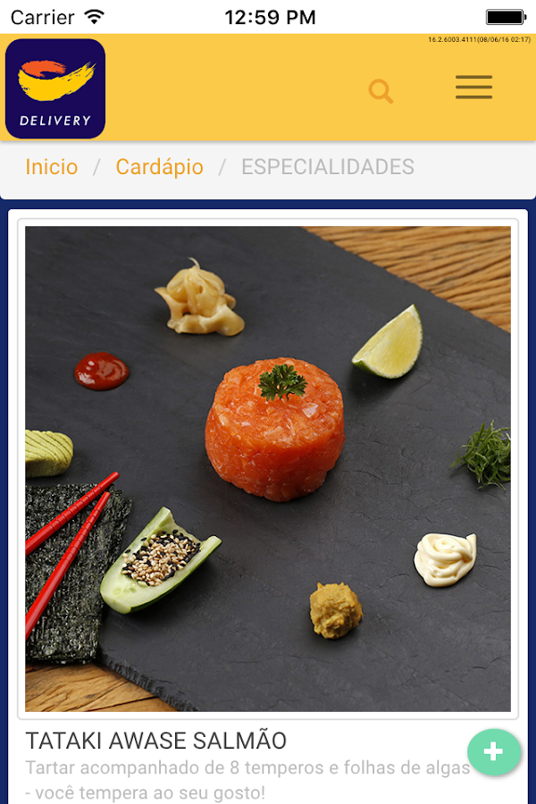 Sushi Papaia- screenshot