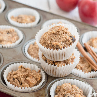 Gluten-Free Apple Oatmeal Muffins.