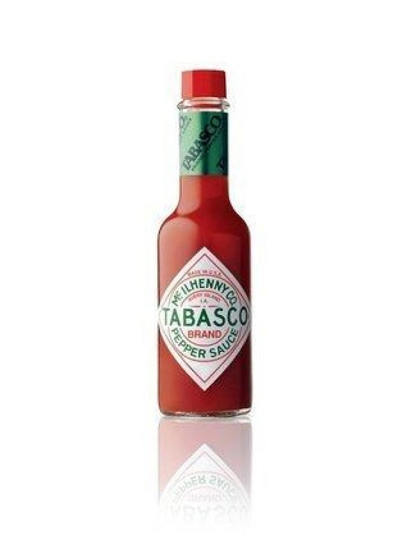 We always like to add just a dash of Tabasco, although this step is...