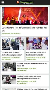 Ubergizmo.de Tech News- screenshot thumbnail