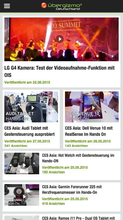 Ubergizmo.de Tech News- screenshot