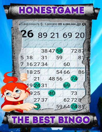 Bingo on Money free 25$ deposit and match 3 to win screenshot 4