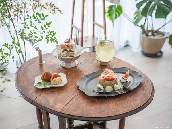 Cypress & Chestnut-全預約制甜點空間,清新靜謐中享用午茶,台北大安科技大樓站美食推薦
