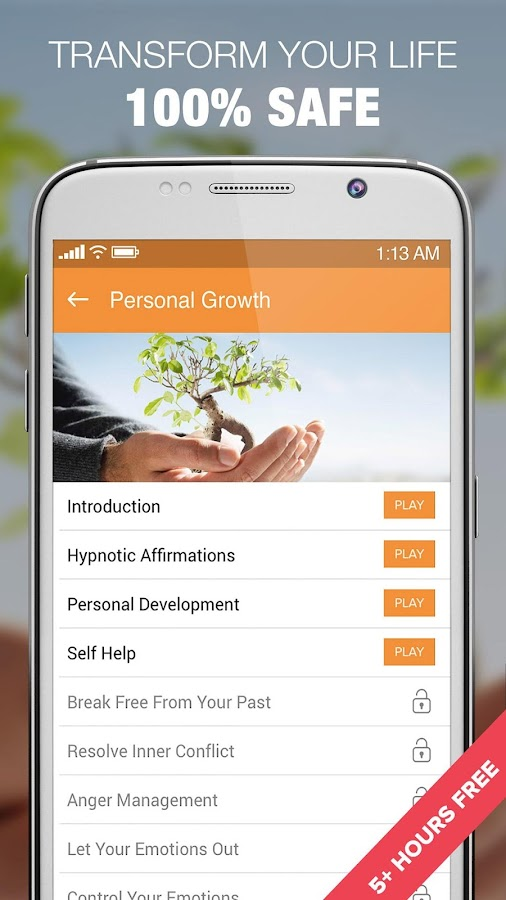 Hypnosis for Personal Growth- screenshot