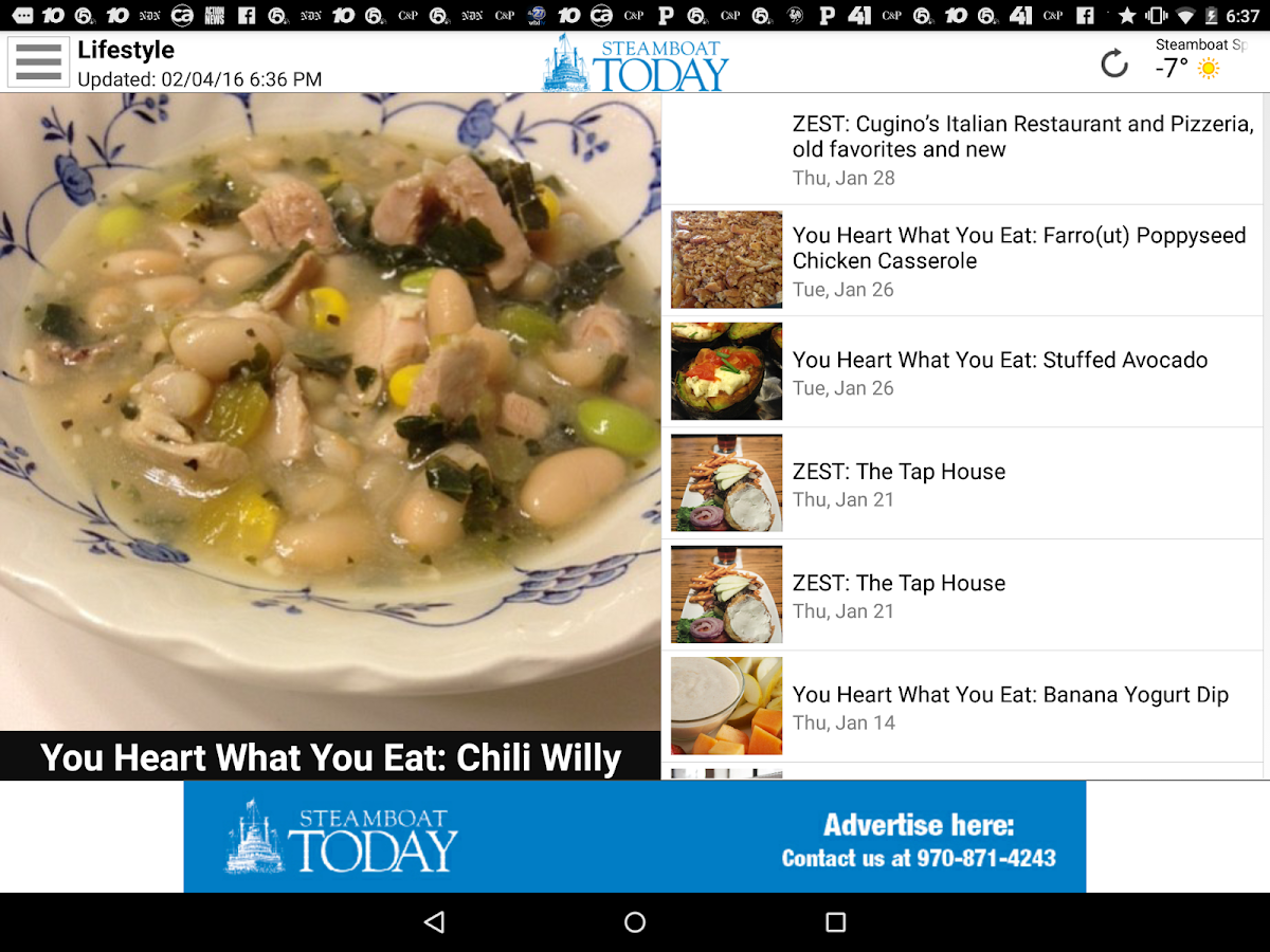 Steamboat Today- screenshot
