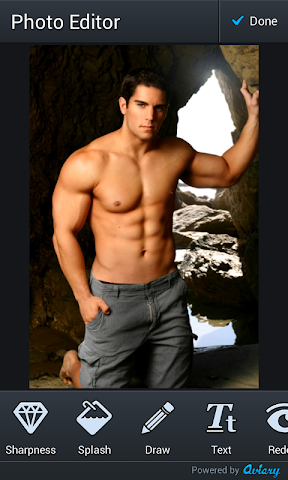 android Body Builder Photo Montage Screenshot 2