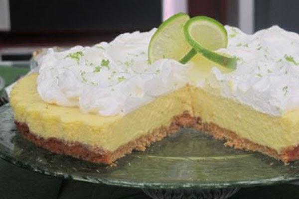 Torta Suflê de Limão