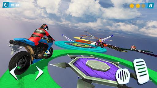 Bike Rider 2020: Motorcycle Stunts game android2mod screenshots 1