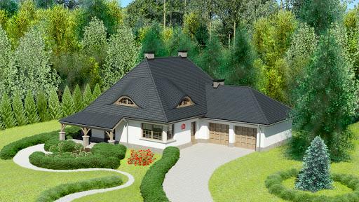 projekt Dom przy Malowniczej 3 NF40