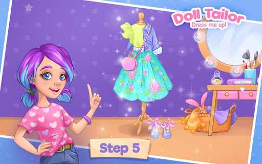 Fashion Dress up games for girls. Sewing clothes 4.0.7 screenshots 5
