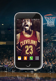 NEW LeBron HD Wallpaper NBA 201 - náhled