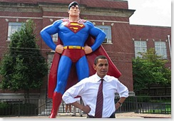 Barack Obama is not superman