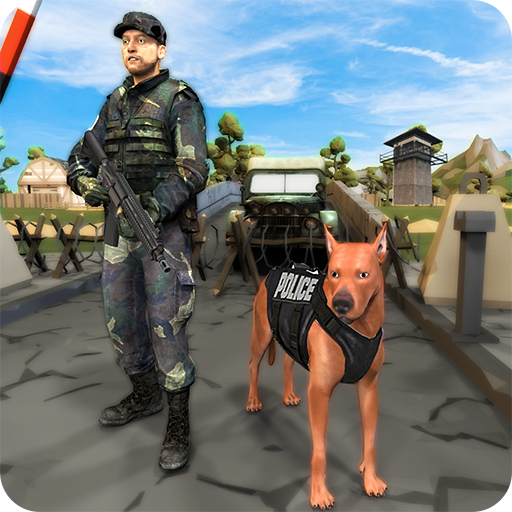 Border Police Dog Duty: Sniffer Dog Game