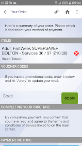 First Bus m-Tickets screenshot 4