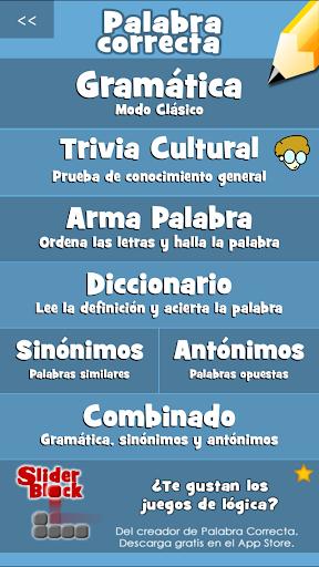Palabra Correcta Screenshot