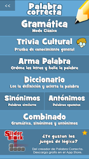 Palabra Correcta- screenshot thumbnail