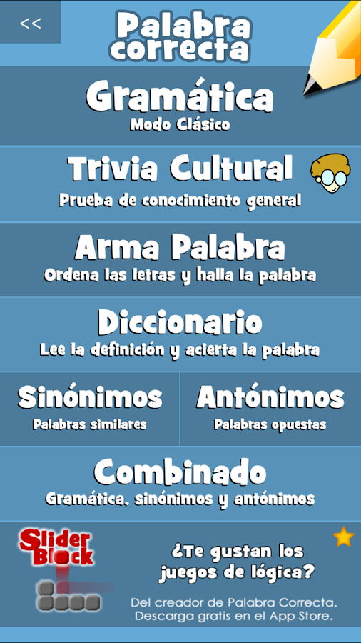 Palabra Correcta- screenshot