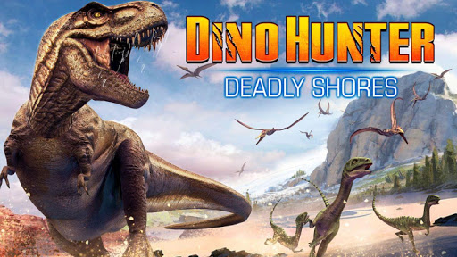 DINO HUNTER: DEADLY SHORES  captures d'u00e9cran 1