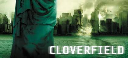 Lá vem o DVD de Cloverfield!