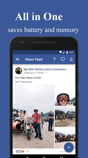 Mini Messenger for Facebook 1.0 screenshots 1