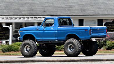 Photo: Big wheels.