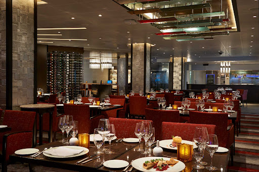 CCL_Horizon_Fahrenheit 555.jpg - Enjoy premium cuts of beef cooked to your liking along with other tasty dishes at the Fahrenheit 555 steakhouse on Carnival Horizon.
