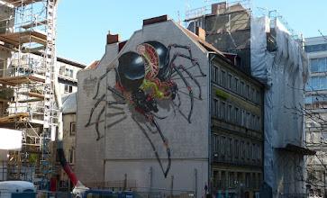 "Photo: NYCHOS; ""Spider""; Speckstraße 83-87"