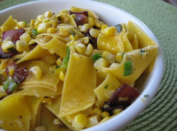 Buttered Corn And Noodles Recipe