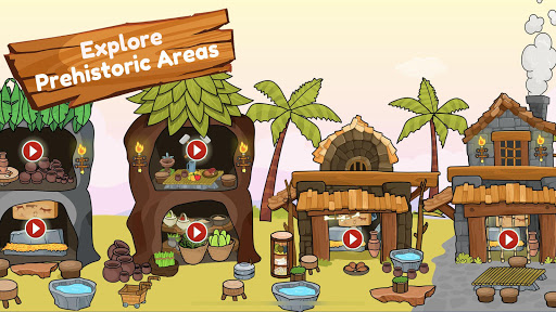 My Dinosaur Town - Jurassic Caveman Games for Kids 3.1 Screenshots 10