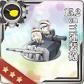 15.2cm三連装砲