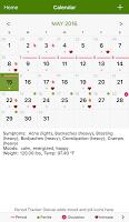 screenshot of Period Tracker