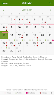 Period Tracker- screenshot thumbnail