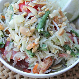 Mekong Inspired Green Papaya Salad.