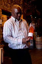 Photo: It's also the home of Signal Hill Wineries which makes wine from a scattering of vineyards around Cape Town. This is a rosé from vineyards in Kalk Bay.
