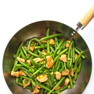 Chicken and Green Bean Stir-Fry