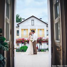 Wedding photographer Denis Manov (DenisManov). Photo of 07.08.2017