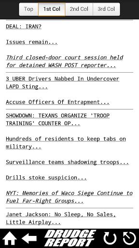 Drudge Report screenshot