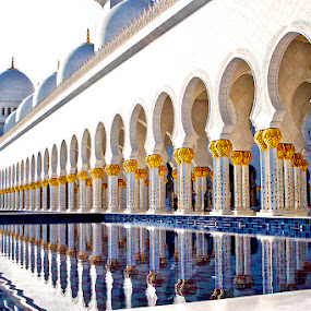 Abu Dhabi Grand Mosque by Lan Saflor - Buildings & Architecture Other Exteriors